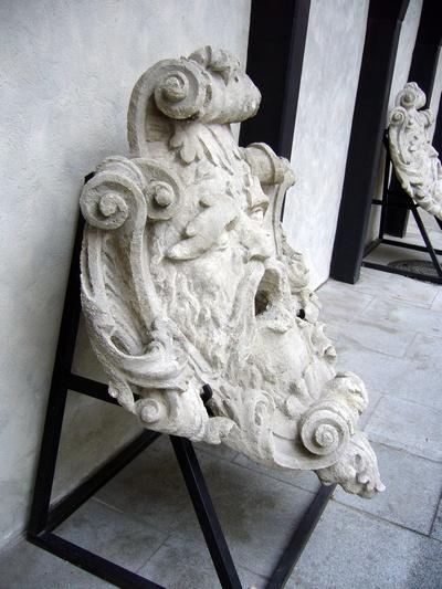 Originál - Samsonova kašna
