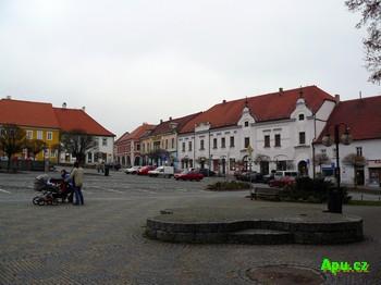 Týn nad Vltavou - náměstí