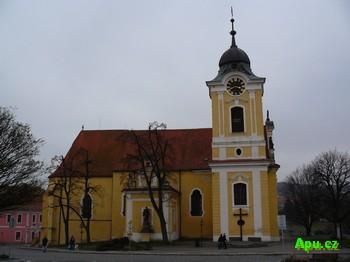 Týn nad Vltavou - kostel sv. Jakuba