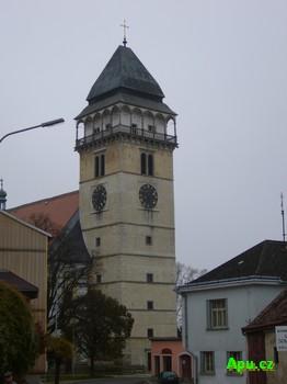 Dačice - věž