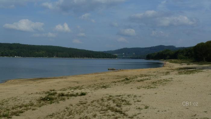 Lipno - pláž