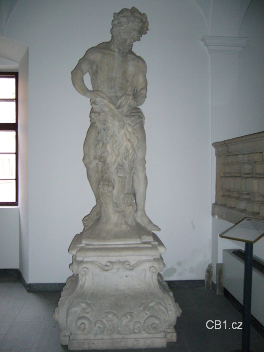 Socha Samsona - originál