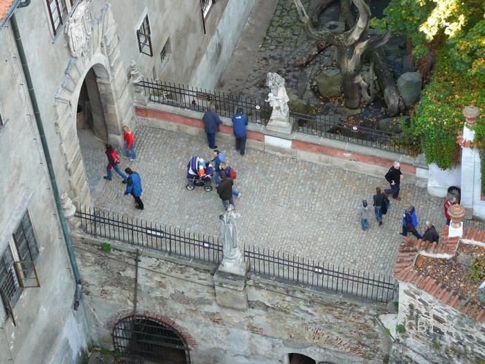 Vchod na zámek