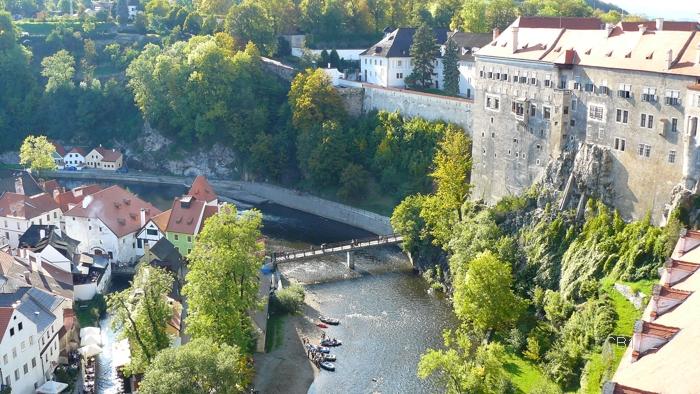 Vltava a zámek