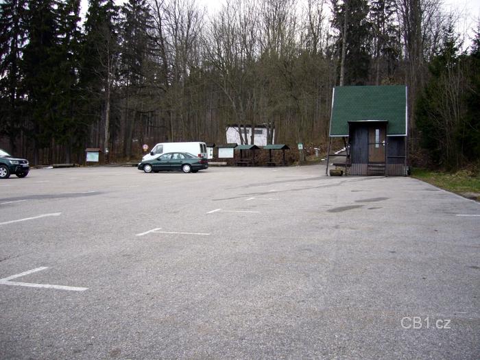 Parkoviště pod Kletí