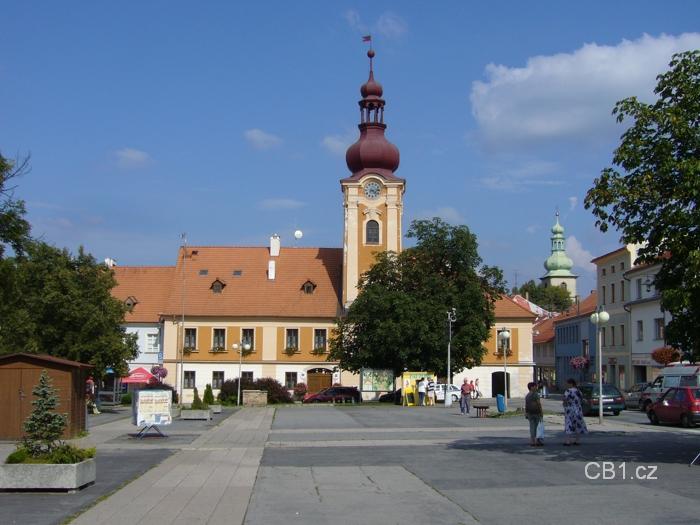 Kaplice - náměstí