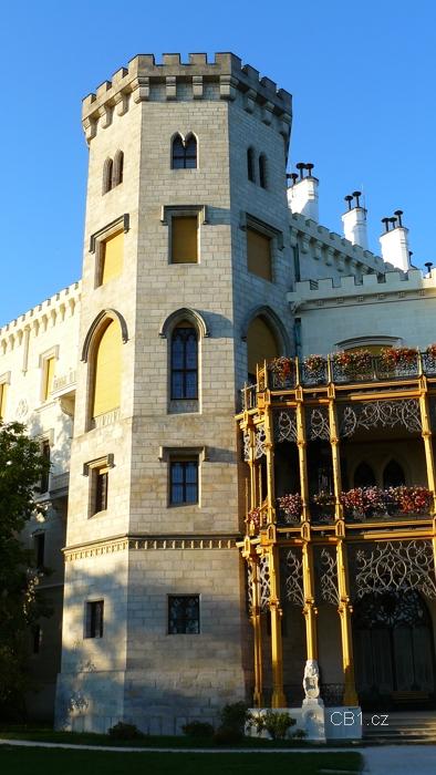 Zámek Hluboká - věž
