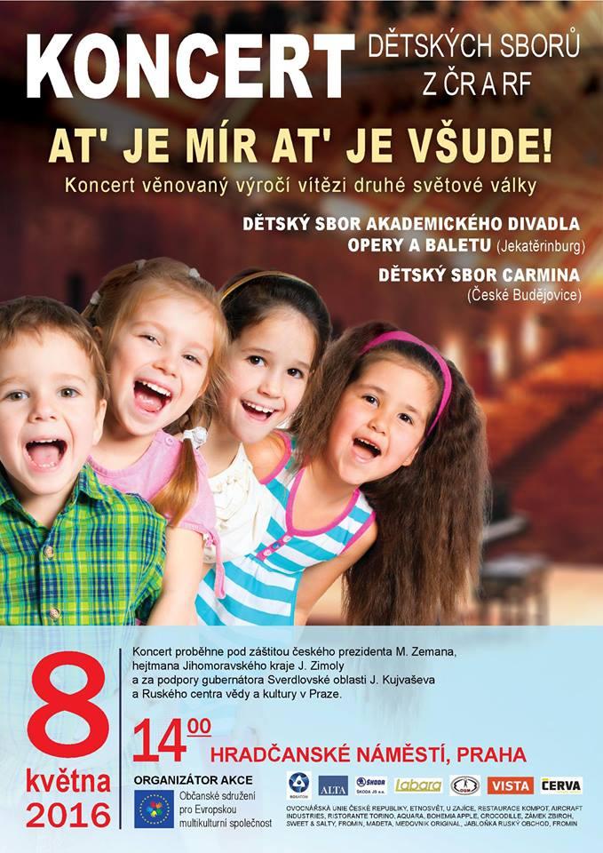 koncert dětských sborů