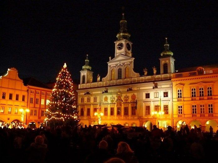 Vánoční strom v roce 2007