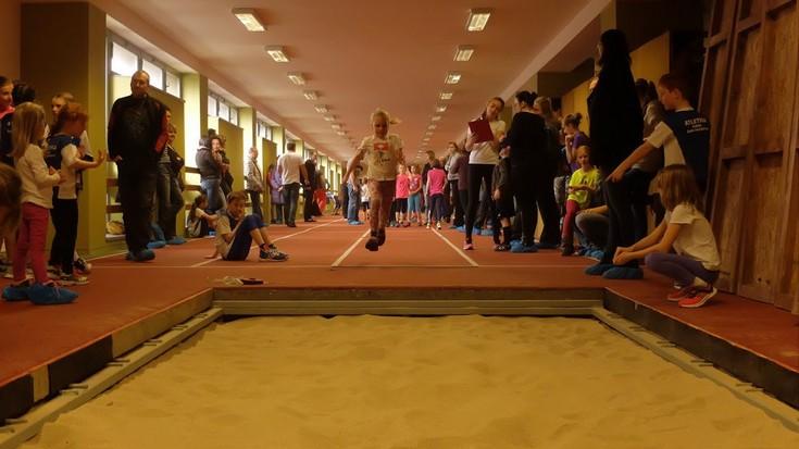 Atletický koridor ve sportovní hale